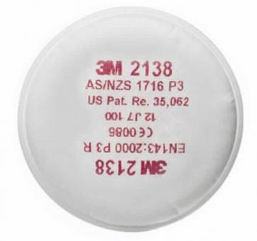 3M 2138 Feinstaubfilter mit Aktivkohle