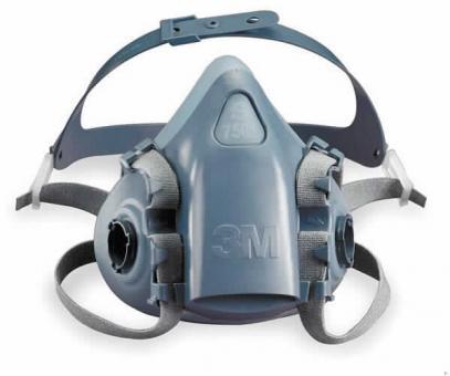 3M Silikonhalbmaske 7501, Gr. S