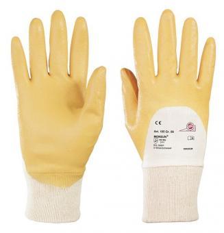 KCL Monsun105  Nitril Schutzhandschuh, gelb