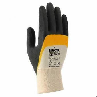 UVEX 60558 Profi Ergo XG20A Schutzhandschuh mit Gripbesch.
