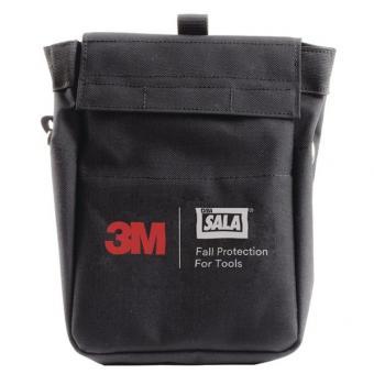 3M DBI-SALA Werkzeugtasche, 2 Retraktoren, schwarz, 1 Stk.