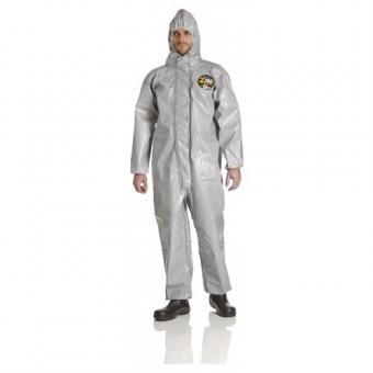 Zytron 200 Chemikalienschutzanzug mit Kapuze, grau
