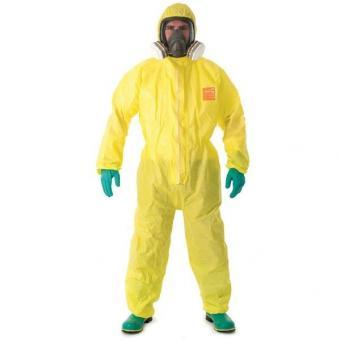 Microchem 3000 Chemikalienschutzoverall gelb, VE/25/20Stk.
