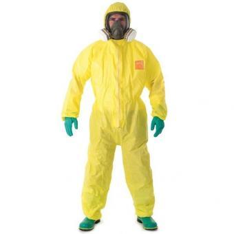 Microchem 3000 Chemikalienschutzoverall gelb, VE/20Stk.