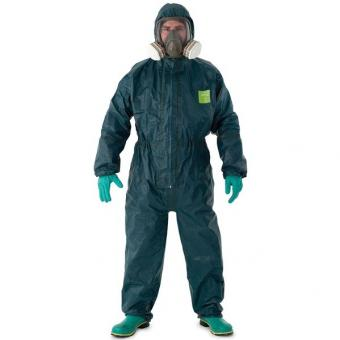 Microchem 4000 Chemikalienschutzanzug , grün VE/10Stk.
