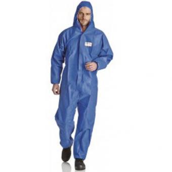 ProSafe 1FR, Einwegschutzoverall mit Kapuze, blau,