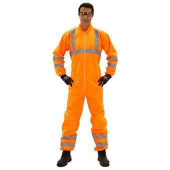 Schutzanzug NeHon 5+, Warn-Orange EN ISO 20471 Typ: 5 & 6