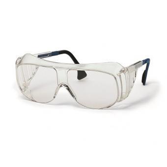UVEX 9161.005 Schutzbrille (Überbrille), blau/schwarz