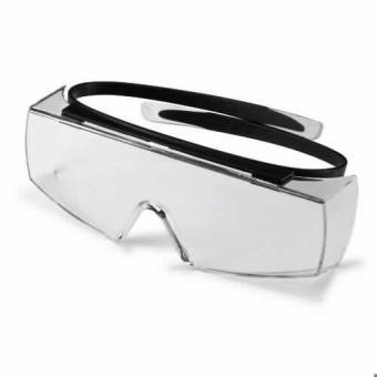 UVEX 9169.080 Schutzbrille super OTG , schwarz, PC farblos,