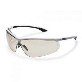 UVEX 9193.064 Schutzbrille sportstyle, weiß/schwarz,