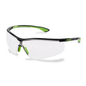 UVEX 9193.226 Schutzbrille sportstyle schwarz/lime
