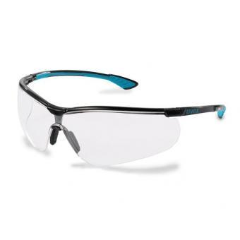 UVEX 9193.376 Schutzbrille sportstyle schwarz/petrol