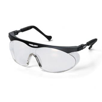 UVEX 9195.275 Schutzbrille, Skyper, schwarz,farblos