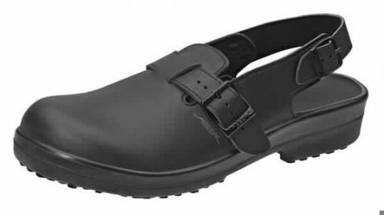 Abeba Sicherheitsschuhe Classic, Clog schwarz