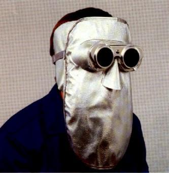 HITAN Hitzeschutzmaske mit zusätzlichem Ohrenschutz